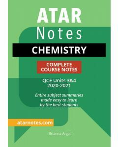 ATAR Notes: QCE Chemistry Units 3&4 Notes