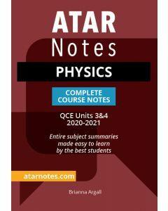 ATAR Notes: QCE Physics Units 3&4 Notes