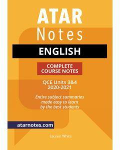 ATAR Notes: QCE English Units 3&4 Notes