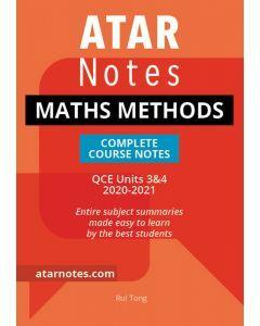ATAR Notes: QCE Maths Methods Units 3&4 Notes