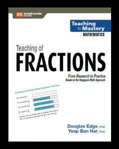 Teaching of Fractions (Teaching to Mastery Mathematics series)