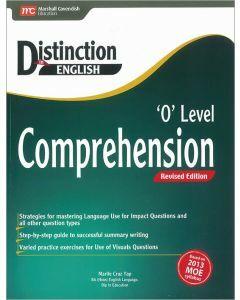 Distinction in English 'O' Level Comprehension