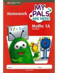 My Pals are Here! Maths Homework 1A (3E)