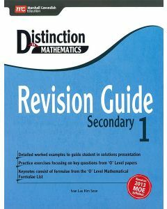 Distinction in Mathematics: Revision Guide - Secondary 1