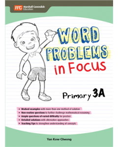 Word Problems in Focus 3A