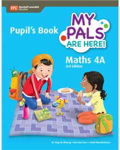 My Pals Are Here! Maths Pupil's Book 4A with MC eBook (3rd edition)