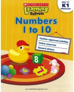 Learning Express: Numbers 1 to 10 Level K1