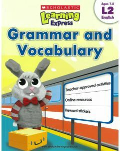 Learning Express: Grammar & Vocabulary Level 2