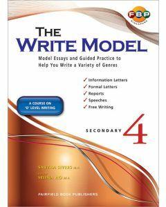 The Write Model Secondary 4