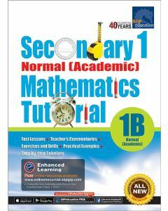 Secondary 1 Normal (Academic) Mathematics Tutorial 1B
