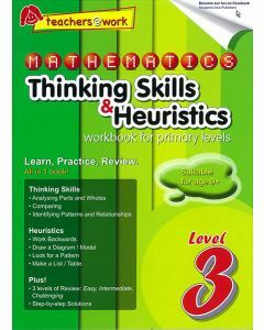 Mathematics Thinking Skills & Heuristics Workbook For Primary Level 3