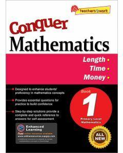Conquer Mathematics Book 1: Length, Time, Money