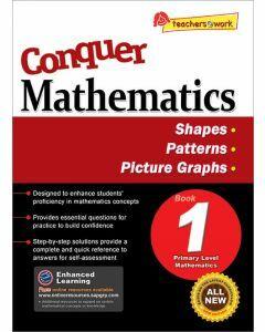 Conquer Mathematics Book 1: Shapes, Patterns, Graphs
