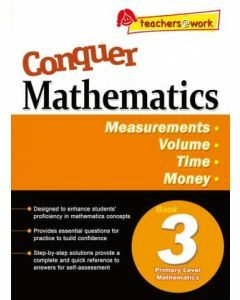 Conquer Mathematics Book 3: Measurements, Volume, Time, Money