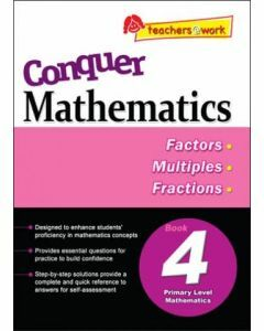 Conquer Mathematics Book 4: Factors, Multiples, Fractions