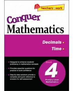 Conquer Mathematics Book 4: Decimals, Time