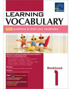 Learning Vocabulary Workbook 1