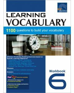 Learning Vocabulary Workbook 6