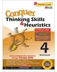 Conquer Thinking Skills & Heuristics Workbook 4
