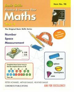 Basic Skills - Practise & Improve Your Maths Yr 4 (Basic Skills No. 98)