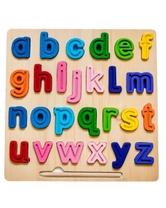 abc lowercase Chunky and Tracing Puzzle (18 months+)