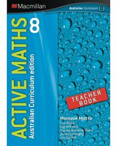 Active Maths 8 Australian Curriculum Edition Teacher Book  (Available to Order)
