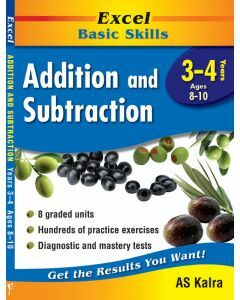Excel Basic Skills Addition and Subtraction Years 3-4