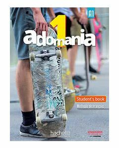 Adomania 1/A1 Student Pack English Version (Textbook, Workbook, Ebook Code)