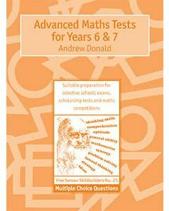 Advanced Maths Tests for Years 6 & 7