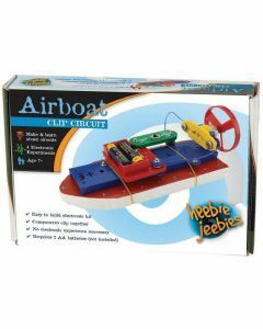 Clip Circuit Small Airboat | Electronic Boat Kit (Ages 7+)