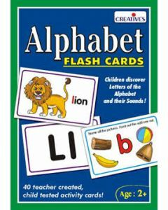 Alphabet Flash Cards (Ages 2+)