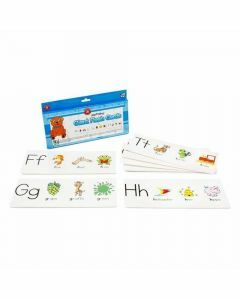 Alphabet Giant Flash Cards (Ages 4+)