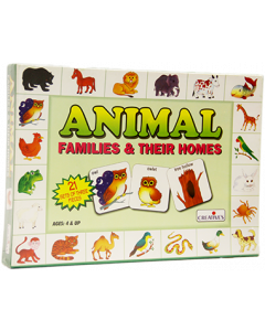 Animal Families & Their Homes (Ages 4+) - 0620