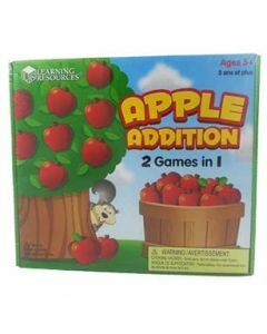 Apple Addition: 2 Games in 1 (Ages 5+)