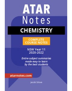 ATAR Notes: HSC Year 11 Chemistry Notes