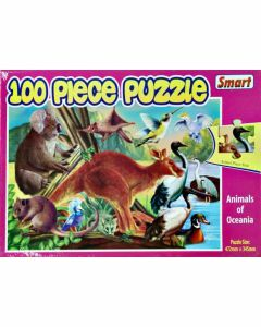 Australian Animals 100 Piece Puzzle
