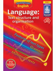 Australian Curriculum English Language: Text Structure and Organisation Year 3