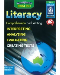 Australian Curriculum English Literacy Year 6