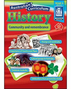 Australian Curriculum History Year 3 (Ages 8 to 9)