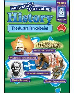 Australian Curriculum History Year 5 (Ages 10 to 11)