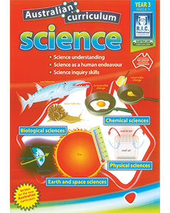 Australian Curriculum Science Year 3 (Ages 8 to 9)