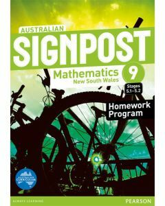 Australian Signpost Maths NSW 9.2 Homework Program