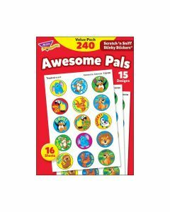 Scratch 'n Sniff Stinky Stickers Awesome Pals Value Pack 240