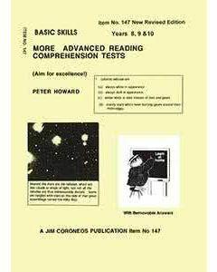 Basic Skills  Advanced Reading Comprehension Tests Yr 8, 9 & 10 (Basic Skills No. 147)