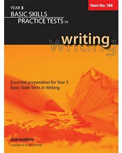 Basic Skills Practice Tests in Writing Year 3