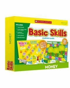 Basic Skills Learning Games: Money (Ages 5+)