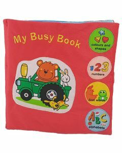 My Busy Book Soft Book (Ages 10+ months)