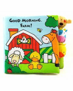 Good Morning, Farm! Finger Puppet Book (Ages 9+ months)