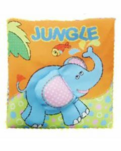 My First Squeaky Touch and Feel Discovery Book: Jungle