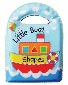 Learning Bath Book: Little Boat Shapes